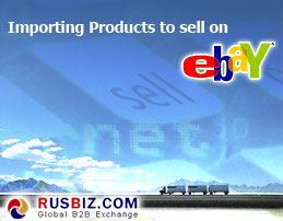 Importing Products to sell on eBay
